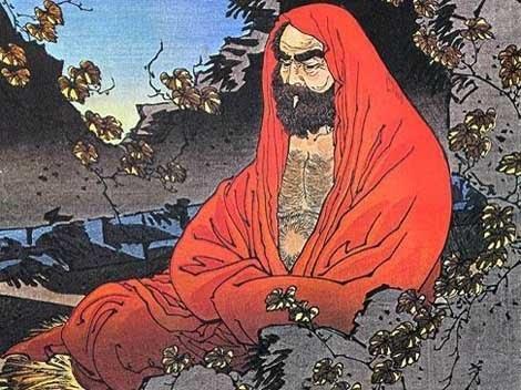 Bodhidharma, l'homme à l'origine du mythe Shaolin, le pionnier du Bouddhisme chinois