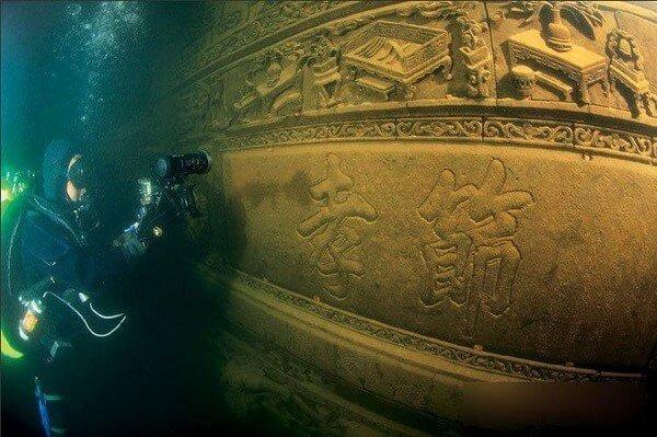 Plongée en Chine, l'incroyable site de Shi Cheng