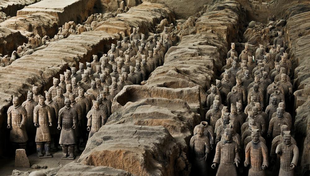 Focus sur l'armée en terre cuite de Xi'an