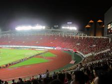 Jour de foot à Guangzhou