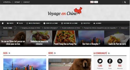 Lancement de la v2 de Voyage en Chine