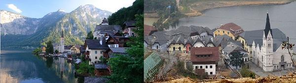 在中国复制的十个欧洲城市