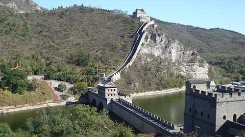 La Grande muraille de Chine à partir de Pékin