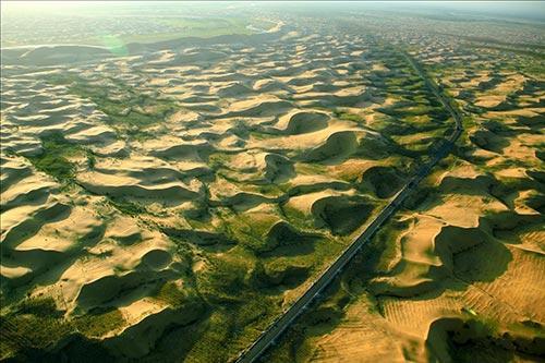La Grande Muraille verte de Chine contre la désertification