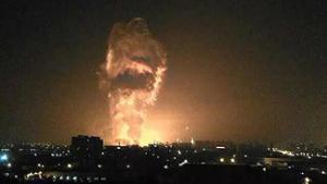 La ville de Tianjin frappée par une série d'explosions