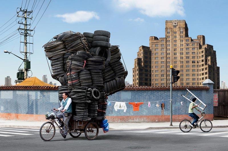 Totems, Le Shanghai d'Alain Delorme en photo