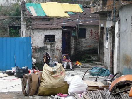 Pauvreté en Chine
