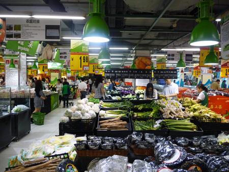 Supermarché Guangzhou
