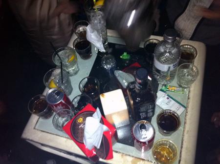 Table heihei