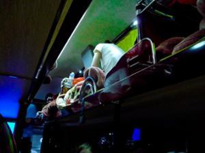 Bus couchettes Yangshuo