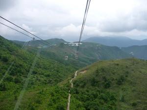 Ngong Ping montagnes