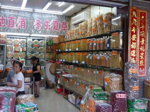 Etalages Marché Qingping