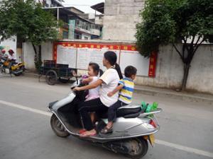Scooter chinois Yangshuo