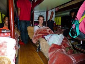 Sylvain bus couchette