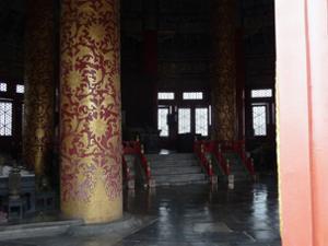 Intérieur Hall Prière Bonnes Moissons