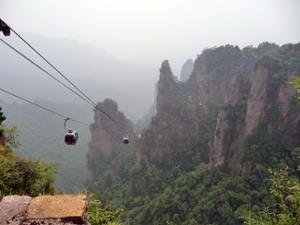 Téléphérique Mont Tianzi