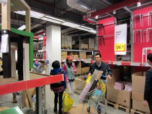 IKEA Guangzhou entrepôt