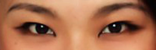Yeux chinois