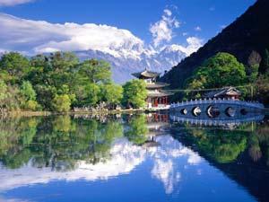 Mont Yulong et Parc de la source de Jade