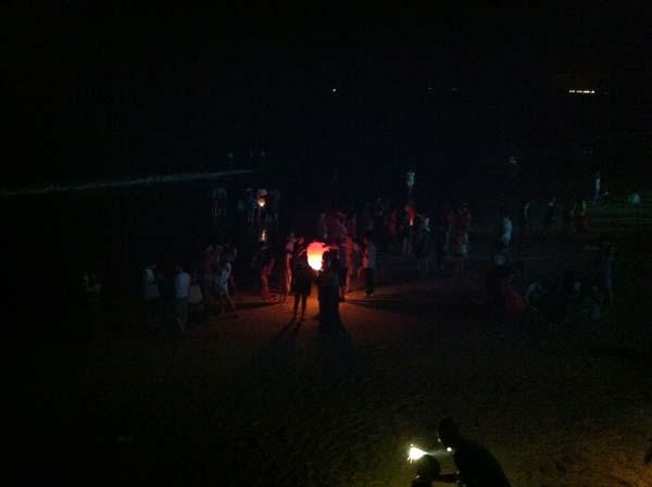 Lanternes plage Yangjiang