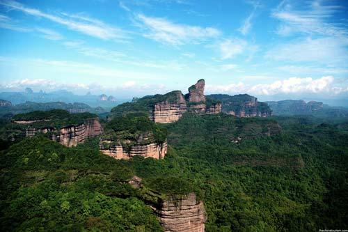 Mont Danxia Guangdong