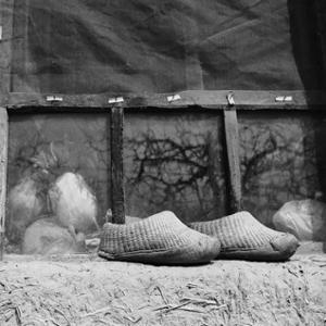 Chaussures pieds bandés en Chine