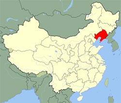 Carte de Liaoning