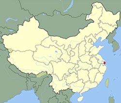 carte de Shanghai