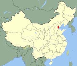 carte de Tianjin