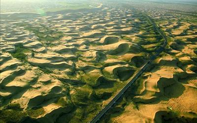 La Grande Muraille Verte en Chine