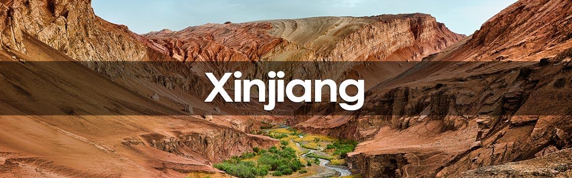 region autonome du Xinjiang