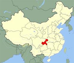 Carte de Chongqing