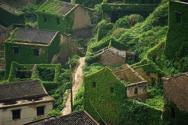 village abandonné à Zhoushan