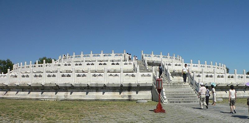 Autel circualire du Temple du Ciel à Pékin