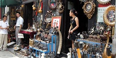 Marché aux puces de Panjiayuan