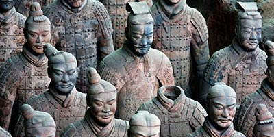Armée en tere cuite de Xi'an