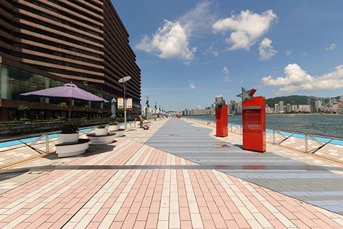 Promenade Avenue des Stars