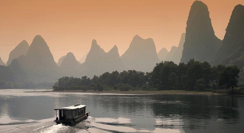 Croisière sur la rivière Li à Guilin