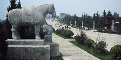 Mausolée Qian - Tombeaux Impériaux