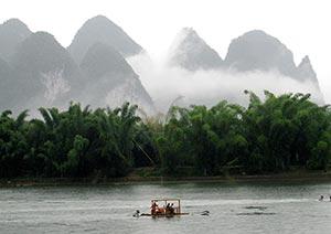 pics karstiques de la rivière Li