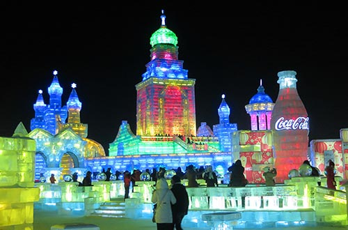 Festival sculptures de glace à Harbin - Guide Chine