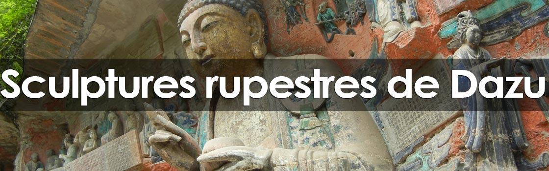 grottes et sculptures rupestres de Dazu