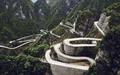 Les routes les plus dangeureuses de Chine