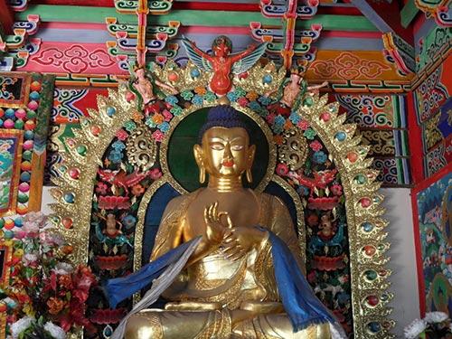 statue Temple Dazhao