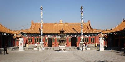 Temple Dazhao à Hohhot
