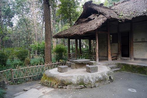 chaumiere du poète Du Fu à Chengdu