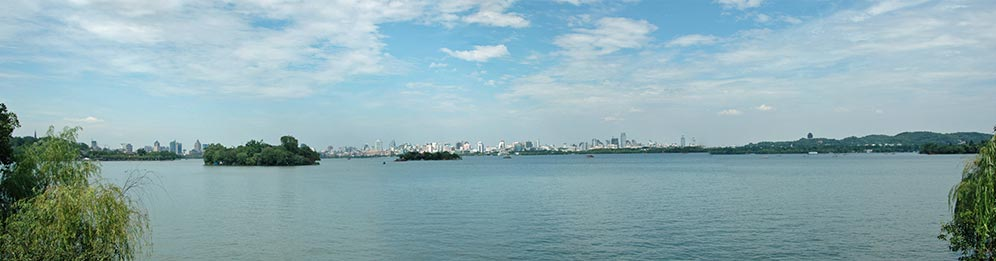panorama lac de l'Ouest