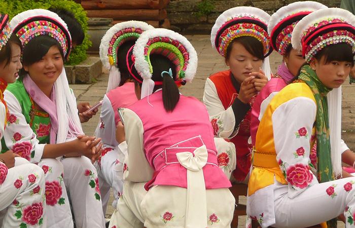 Les Bai ethnie chinoise