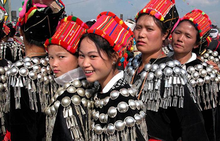 Les Jingpo ethnie chinoise