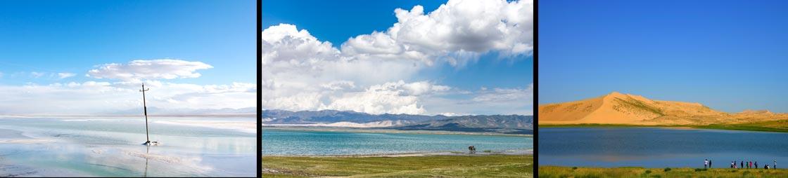 lac Qinghai Chine
